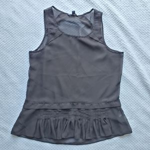 American Eagle/Black See Through Blouse/Size S